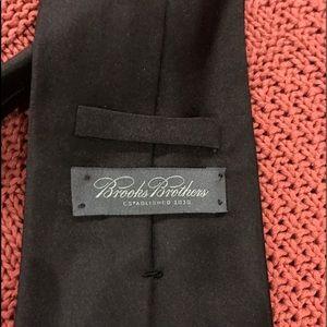 Brooks Brother All Black Silk Tie
